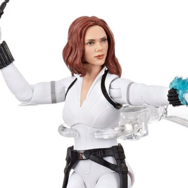 Marvel Delivers Fans the Marvel Legends Black Widow Deluxe White Costume Action Figure from Trailer