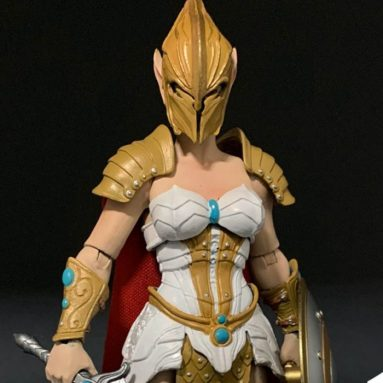 The She-Warrior Dorina Onoris Action Figure by Four Horsemen: Mythic Legions Available for Pre-Order