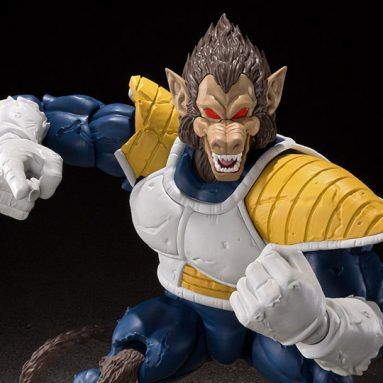 The New Dragon Ball Z Great Ape Vegeta Pre-Order is HUGE!