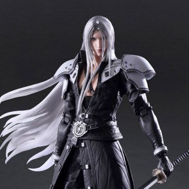New Play Arts Kai Final Fantasy VII Remake Action Figure Releases by Square Enix ft. Sephiroth, Rena, and Rude
