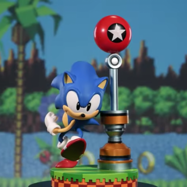 The First 4 Figures Sonic PVC Statue is Available for Pre-order.