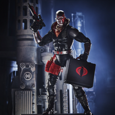Celebrate National Joe Day with the G.I. Joe Classified Series Destro Action Figure by Hasbro