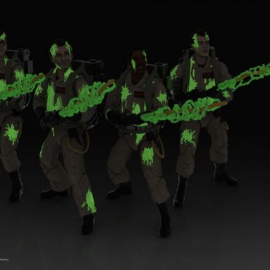 Ghostbusters Plasma Series Glow-In-The-Dark Action Figures (Series 1) Available for Pre-Order