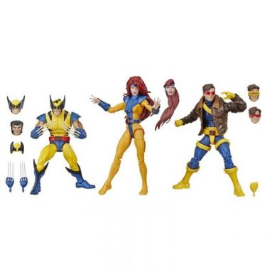 Hasbro's Marvel Legends Series Action Figures 3-Pack (X-Men, Wolverine, Jean Grey, Cyclops.) A Best Seller!
