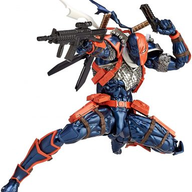 46 Points of Articulation? The DC Comics Amazing Yamaguchi Revoltech No.011 Deathstroke By Kaiyodo is a Thing of Beauty