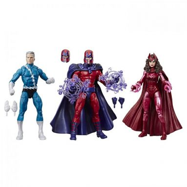 Marvel Legends Series 6″ Family Matters 3 Pack with Magneto, Quicksilver, & Scarlet Witch Action Figures (Amazon Exclusive)