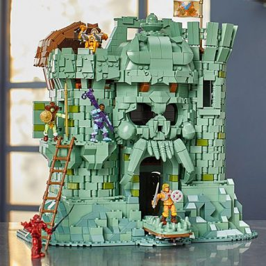 Pair Your MOTU Action Figure Collection with the Masters of the Universe Mega Construx Probuilder Castle Grayskull