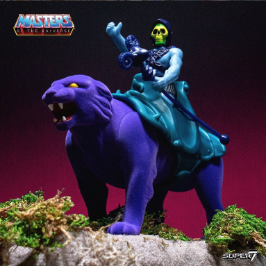 Masters of the Universe ReAction Skeletor & Panthor and  He-Man & Battle Cat Two-Pack Exclusives