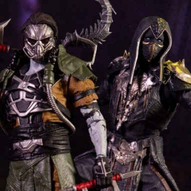 McFarlane Toys Noob Saibot and Kabal Figures Join the Mortal Kombat 11 Realm