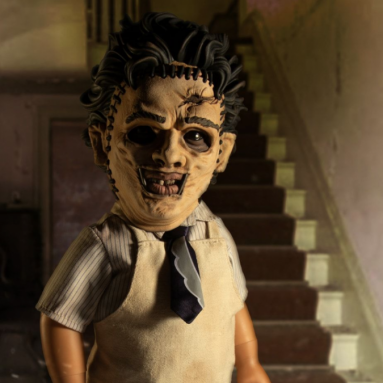 Mezco Designer Series' The Texas Chain Saw Massacre Leatherface Available for Pre-Order