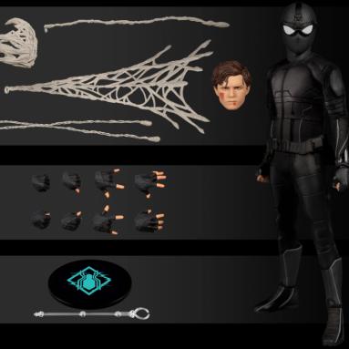 """Mezco's """"PREVIEWS"""" Exclusive Spider-Man Stealth Suit"""