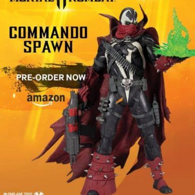 Mortal Kombat Commando Spawn Dark Ages Skin by McFarlane Toys Available for Pre-Order