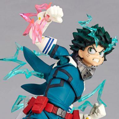 My Hero Academia Amazing Yamaguchi Revoltech No.018 Izuku Midoriya by Kaiyodo Pre-Order Available