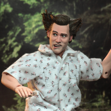 NECA's Ace Ventura: Pet Detective Ace Ventura (Shady Acres Scene) Action Figure Available for Pre-Order