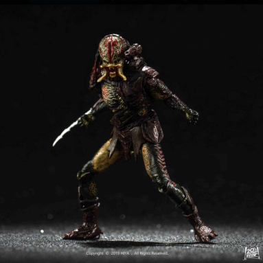 Hiya Toys Releases the Predators Movie Berserker Predator (Unmasked) 1:18 Scale PX Previews Exclusive Action Figure