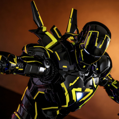 Sideshow Neon Tech Iron Man 2.0 Diecast Sixth Scale Figure