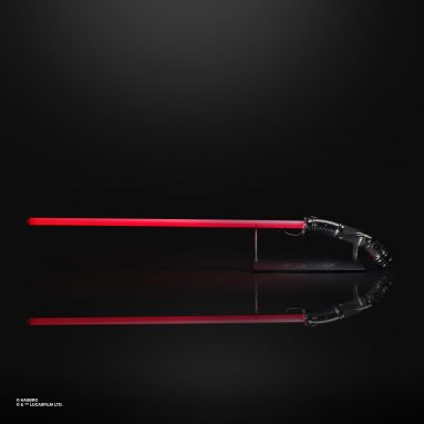 What's Missing from Your Star Wars Collection Room? The Black Series Count Dooku Force FX Lightsaber by Hasbro.