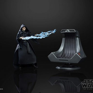 """Star Wars """"The Black Series"""" Emperor Palpatine Action Figure with Throne 