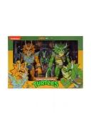 Teenage Mutant Ninja Turtles Triceraton Zarax and Zork Action Figures (Wave 4) Packaging by NECA