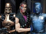 Terminator 2 Kenner Tribute Set of Three Action Figures by N.E.C.A.