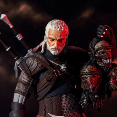 The Witcher 3's Geralt of Rivia Action Figure Revealed by McFarlane Toys