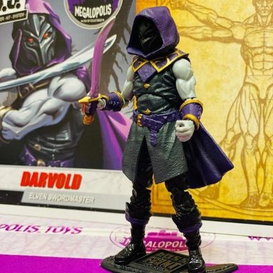 Vitruvian H.A.C.K.S. Darvold Elven Swordmaster by Boss Fight Studio a Megalopolis Exclusive!