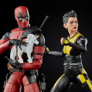 X-Men 20th-Anniversary Marvel Legends Deadpool & Negasonic Teenage Warhead