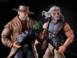 X-Men 20th-Anniversary Marvel Legends Old Man Logan & Hawkeye by Hasbro