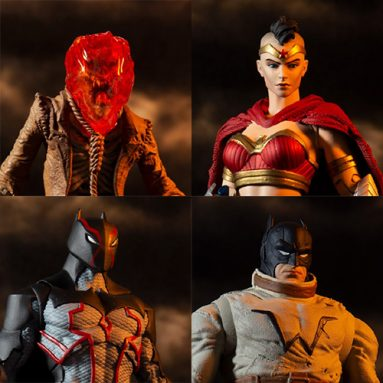 McFarlane Toys Batman Last Knight on Earth Figure Wave – Scarecrow, Wonder Woman, Omega, and Bruce Wayne Clone