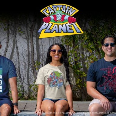 Celebrate Earth Day with The Captain Planet Capsule Collection by Loot Crate
