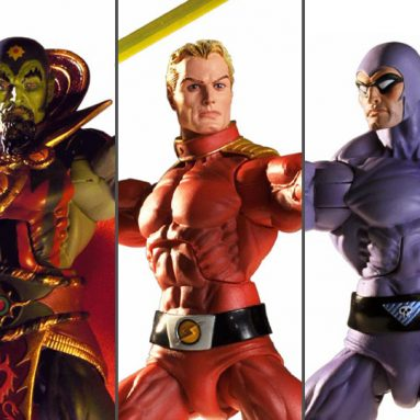 Defenders of the Earth Action Figures by NECA