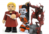 Halloween Comic Fest 2020 Exclusives by Diamond Select: Harley Quinn & Buffy the Vampire Vinimates and Glow-in-the-Dark Carnage Diorama