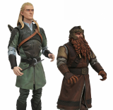 Pre-Order Available for Lord of the Rings Action Figures Series 1 Set by Diamond Select Toys