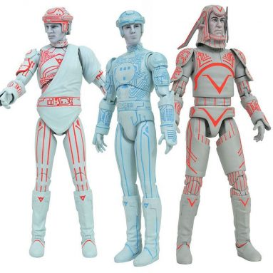 The Diamond Select Toys Tron Movie Action Figures are Here.