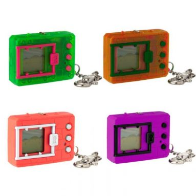 Digimon Retro Neon & Monochromatic Virtual Pets by Bandai Now Available