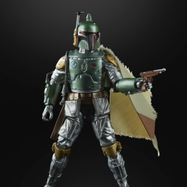 The Hasbro Star Wars The Black Series Carbonized Collection Boba Fett Action Figure
