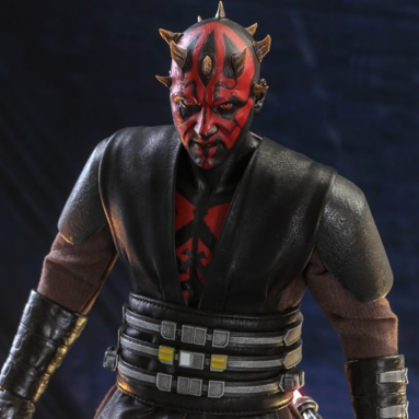 Star Wars: The Clone Wars Darth Maul Action Figure by Hot Toys