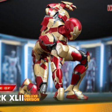 Hot Toys Iron Man Mark XLII 1/4 Scale Figure Pre-Order Available Now