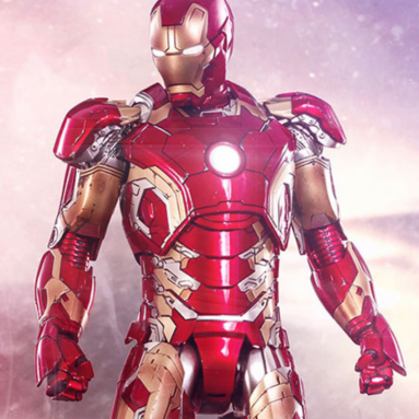 Win an Iron Man Mark XLIII Sixth Scale Action Figure by Hot Toys from Sideshow Collectibles
