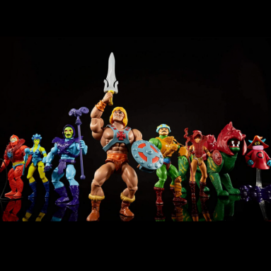 Masters of the Universe Origins Figures by Mattel