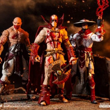 McFarlane Toys Bloody Baraka, Spawn, and Raiden Announced