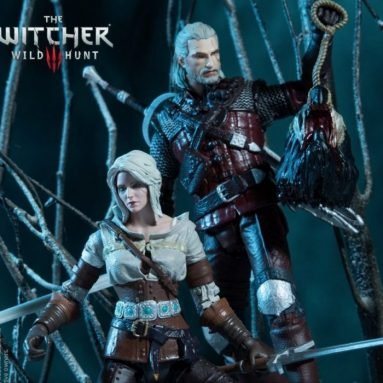 McFarlane Toys Teases Ciri and Geralt Action Figure Two-Pack from the Witcher III