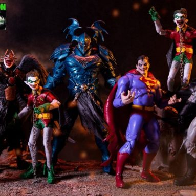 McFarlane Toys DC Multiverse Dark Nights: Metal – The Merciless Build-A-Figure Wave Figures
