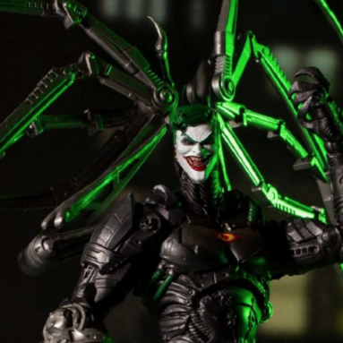 McFarlane Toys Batman: Futures End Build-A-Figure Wave Featuring Joker-Bot & More!