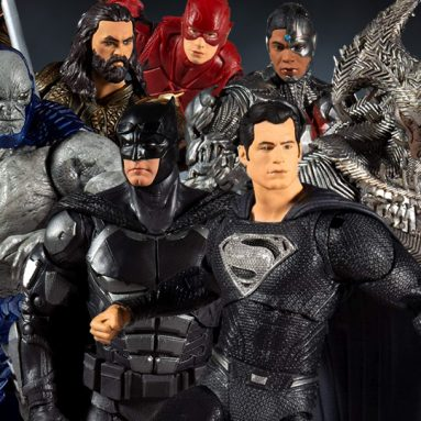McFarlane Toys Zack Snyder Justice League Figures Join the DC Multiverse