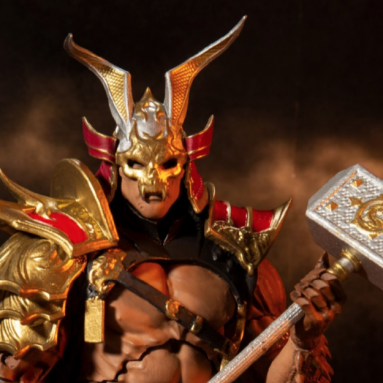 McFarlane Toys Shao Kahn Action Figure Release ALERT!