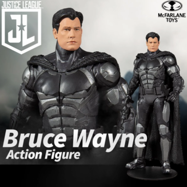 Zack Snyder's Justice League Unmasked Batman Figure by McFarlane Toys an Entertainment Earth Exclusive