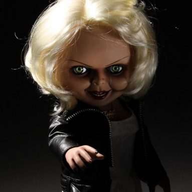 Bride of Chucky Talking Tiffany Figure by Mezco (Mezco Designer Series) Available Now for Pre-Order