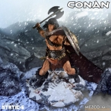 The Mezco Launches the Static-6 Line with Conan The Cimmerian Statue