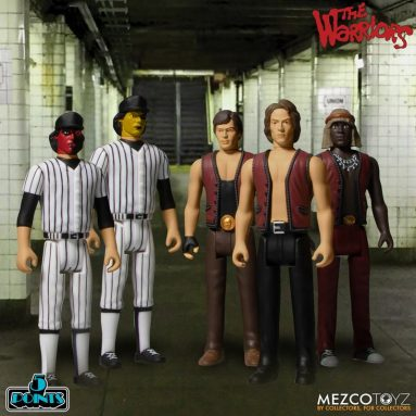 The Warriors Action Figures by Mezco Toyz Get the 5 Points Treatment